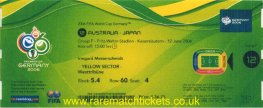 2006 wc grF m1 AUSTRALIA 3 JAPAN 1 (unused)