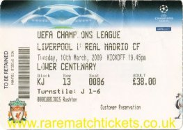2008-09 cl r16 2nd LIVERPOOL 4 REAL MADRID 0 [lc]