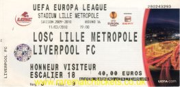 2009-10 el r16 1st LILLE 1 [LIVERPOOL] 0