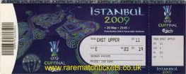 2009 uefa final SHAKHTAR DONETSK 2 WERDER BREMEN 1 (unused)