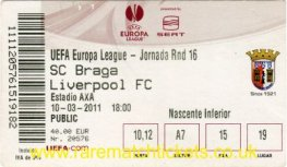 2010-11 el r16 1st BRAGA 1 LIVERPOOL 0 (credit card)