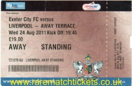 2011-12 lc r2 EXETER CITY 1 [LIVERPOOL] 3 (unused)