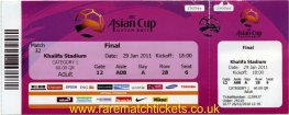 2011 ac final JAPAN 1 AUSTRALIA 0 (unused)