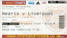 2012-13 el po 1st HEARTS 0 [LIVERPOOL] 1 (unused)