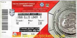 2012 cs [MANCHESTER CITY] 3 CHELSEA 2 (unused)