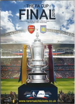 2015 final ARSENAL 4 ASTON VILLA 0