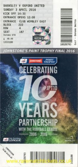2016 flt final [jpt] BARNSLEY 3 [OXFORD UTD] 2 (unused)