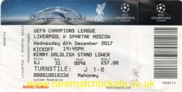 2017-18 cl grE m6 LIVERPOOL 7 SPARTAK MOSCOW 0 (unused)