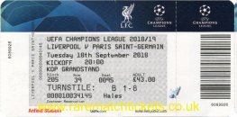 2018-19 cl grC m1 LIVERPOOL 3 PARIS SAINT GERMAIN 2 (unused)