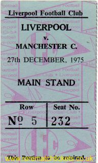 1975-76 div1 m24 LIVERPOOL 1 MANCHESTER CITY 0 [ms]