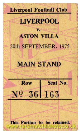 1975-76 div1 m08 LIVERPOOL 3 ASTON VILLA 0 [ms]