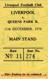 1976-77 div1 m18 LIVERPOOL 3 QUEENS PARK RANGERS 1 [ms]