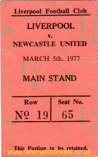 1976-77 div1 m29 LIVERPOOL 1 NEWCASTLE UTD 0 [ms]