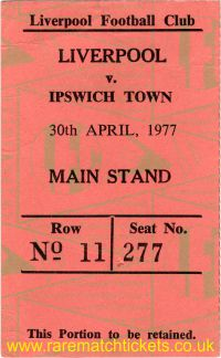 1976-77 div1 m37 LIVERPOOL 2 IPSWICH TOWN 1 [ms]