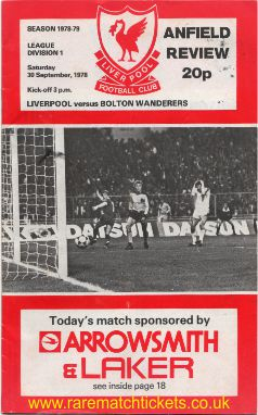 1978-79 div1 m08 LIVERPOOL 3 BOLTON WANDERERS 0