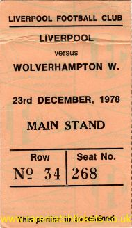1978-79 div1 m29 LIVERPOOL 2 WOLVERHAMPTON WANDERERS 0 [ms]