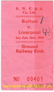 1978-79 div1 m38 BOLTON WANDERERS 1 LIVERPOOL 4