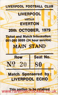 1979-80 div1 m11 LIVERPOOL 2 EVERTON 2 [ms]