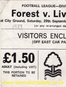 1979-80 div1 m07 NOTTINGHAM FOREST 1 [LIVERPOOL] 0