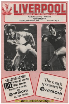 1980-81 lc r4 LIVERPOOL 4 PORTSMOUTH 1