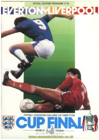 1986 fac final LIVERPOOL 3 EVERTON 1 (unused)
