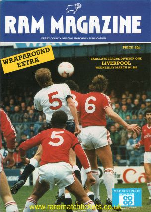 1989-90 div 1 m04 DERBY COUNTY 0 LIVERPOOL 3