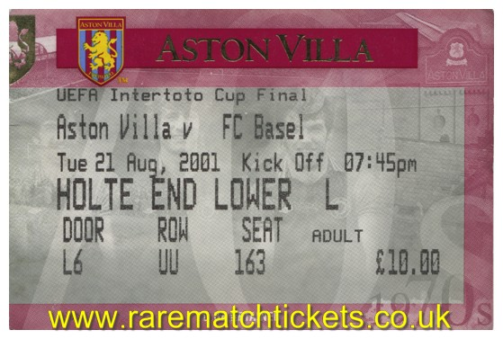 Rare Match Tickets Quality Used And Unused Football Tickets