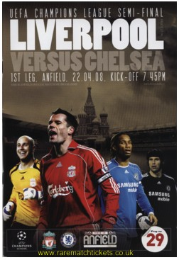 2007-08 sf 1st LIVERPOOL 1 CHELSEA 1