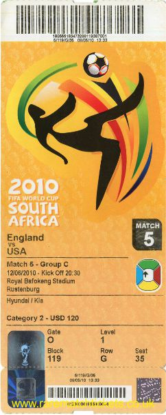 2010 wc grC m1 ENGLAND 0 USA 0 (unused)