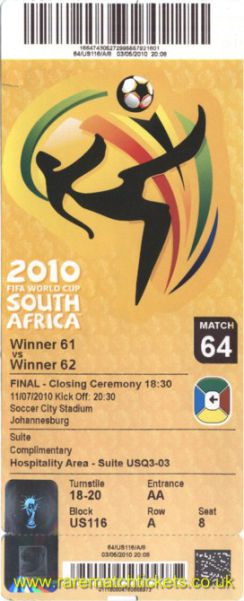 2010 wc final SPAIN 1 NETHERLANDS 0 (unused)