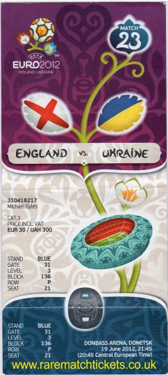 2012 ec grD m3 ENGLAND 1 UKRAINE 0 (unused)